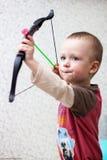 Piccolo gioco del bello bambino Fotografia Stock
