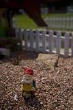 Piccolo gnome del giardino Fotografia Stock Libera da Diritti