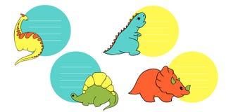 Piccolo insieme di Dino royalty illustrazione gratis