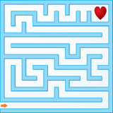 Piccolo labirinto Fotografia Stock
