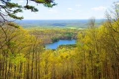 Piccolo lago attraente Fotografia Stock
