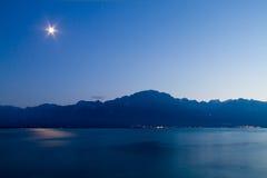 Piccolo lago in Svizzera Fotografie Stock