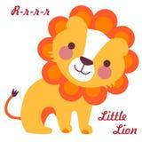 Piccolo leone Fotografie Stock Libere da Diritti