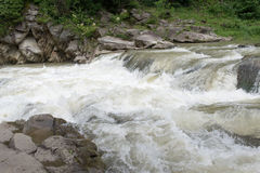 Piccolo, ma fiume ruvido e piccolo Fotografia Stock