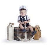 Piccolo marinaio Immagine Stock