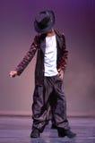 Piccolo Micheal Jackson immagine stock
