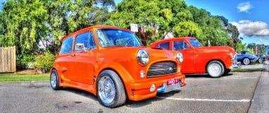 Piccolo mini arancio fotografia stock