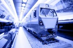 Piccolo modello del treno Immagini Stock