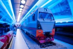 Piccolo modello del treno Immagine Stock Libera da Diritti
