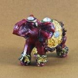 Piccolo modello dell'elefante Fotografie Stock Libere da Diritti