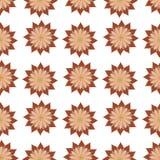 Piccolo modello di fiori Immagini Stock