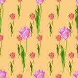 Piccolo modello floreale senza cuciture nel vettore royalty illustrazione gratis