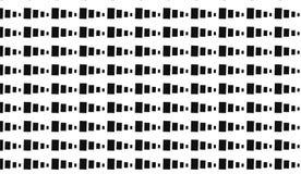 Piccolo modello monocromatico dei blocchi Fotografia Stock Libera da Diritti