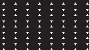 Piccolo modello monocromatico semplice del triangolo Immagine Stock
