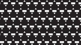 Piccolo modello monocromatico semplice di rettangolo e del triangolo Fotografia Stock Libera da Diritti
