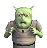 Piccolo mostro arrabbiato Fotografie Stock Libere da Diritti