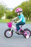 Piccolo motociclista Immagine Stock Libera da Diritti