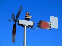 Piccolo mulino a vento rustico Fotografie Stock Libere da Diritti
