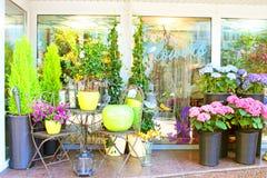 Piccolo negozio di fiore Fotografie Stock