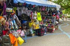 Piccolo negozio di ricordo sul tailandese fotografia stock