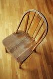 Piccolo oggetto d'antiquariato C di legno dell'annata Fotografia Stock