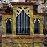 Piccolo organo della chiesa fotografia stock libera da diritti