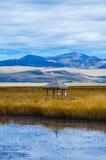 Piccolo padiglione sul lago Fotografie Stock Libere da Diritti