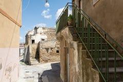 Piccolo paese nel del sud dell'Italia Fotografia Stock Libera da Diritti