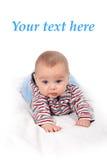 Piccolo pensiero del neonato Immagine Stock Libera da Diritti
