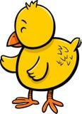 Piccolo personaggio dei cartoni animati del pulcino Fotografia Stock Libera da Diritti