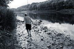 Piccolo pescatore fotografia stock libera da diritti