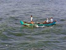Piccolo peschereccio nel Kerala Fotografie Stock Libere da Diritti