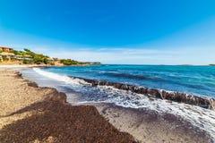 Piccolo Pevero beach in Sardinia. Italy Stock Photo