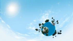 Piccolo pianeta Fotografia Stock