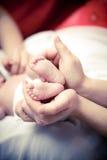 Piccolo piede del bambino Immagine Stock Libera da Diritti