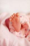 Piccolo piede sveglio Fotografie Stock