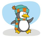Piccolo pinguino 1 Fotografie Stock Libere da Diritti