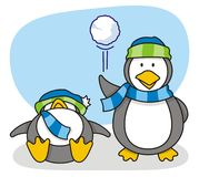 Piccolo pinguino 5 Immagini Stock