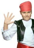 Piccolo pirata Fotografia Stock