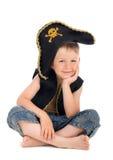 Piccolo pirata Fotografia Stock Libera da Diritti