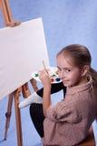Piccolo pittore Fotografia Stock Libera da Diritti