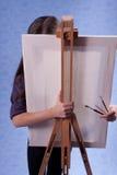 Piccolo pittore Immagini Stock Libere da Diritti