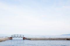 Piccolo ponte a Opatija Fotografia Stock Libera da Diritti
