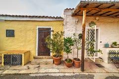Piccolo portico in Sardegna Immagine Stock