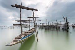 Piccolo porto Fotografia Stock Libera da Diritti