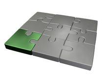Piccolo puzzle di puzzle Fotografie Stock Libere da Diritti