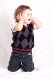 Piccolo ragazzo Immagini Stock