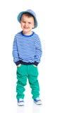 Piccolo ragazzo alla moda Fotografia Stock