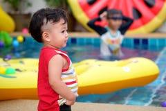 Piccolo ragazzo asiatico Fotografie Stock Libere da Diritti