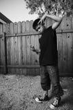 Piccolo rapper Fotografia Stock